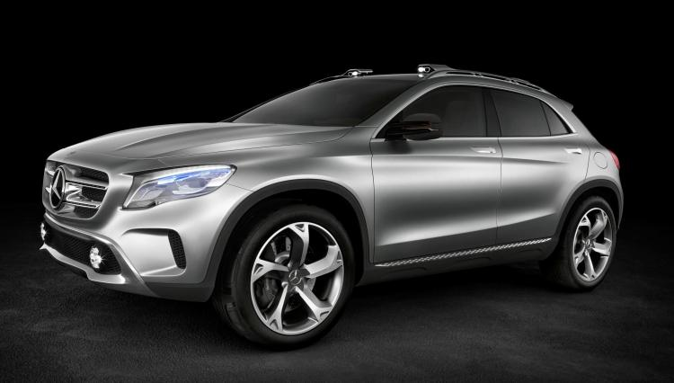 Mercedes-Benz will be showing a compact premium-class SUV at the Auto Shanghai motor show in the form of its Concept GLA.
