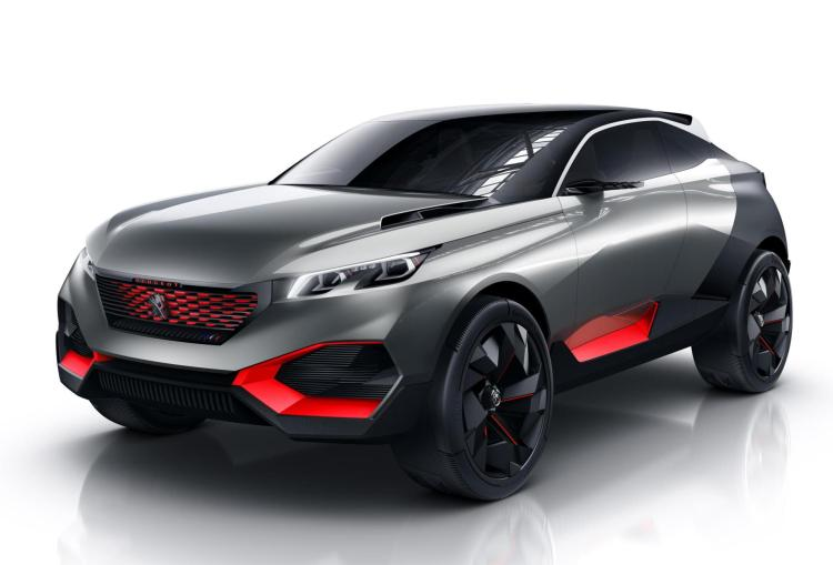 The Peugeot Quartz Concept unveils a new vision for the Crossover segment at the Paris Motor Show. This next generation SUV blends dazzling design with innovative materials and a powerful Hybrid drivetrain.