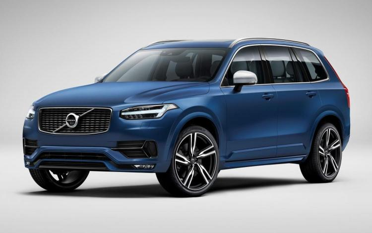 Volvo has released the first images of the R-Design version of the all new XC90, aimed at buyers looking for a head-turner that radiates a sporty and dynamic look.